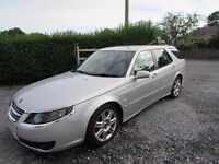 SAAB 9-5 2.0T S-A Estate (Automatic) - Very good condition, New MOT, serviced 07-07-17. £1300 ono
