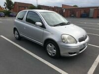 2005 Toyota Yaris 1.0 VVT-i 3dr, long MOT - p/x, trade ins & swaps welcome - delivery available