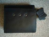 Real leather purse - brand new