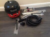 Henry Vacuum with brand new pipes and attachments.
