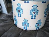 Handcrafted Robot lampshade
