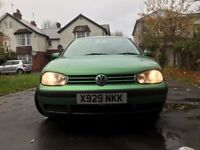 VW Golf 1.6 Petrol, Automatic, 103k Miles, CD Changer, NEW TYRES