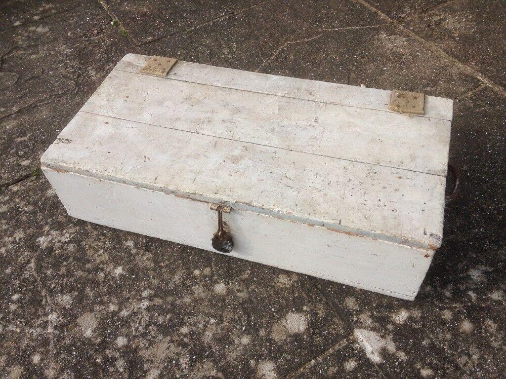 Wooden box , vintage box -