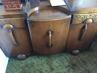 Old fashioned cupboard and draws for sale