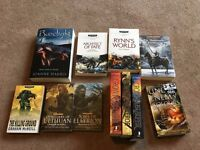 Assorted Fantasy Books Collection Warhammer 40,000 40k Space Marine Other Cookbook Cooking Baking