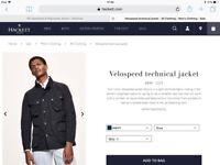 Men's Hackett coat REDUCED to £20 Ono