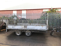 Indespension 12ft x 6.5ft twin axel trailer