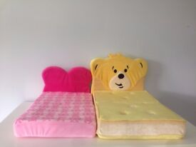 Build a Bear beds - yellow and pink, great Christmas present