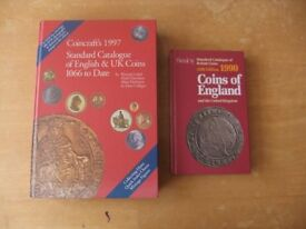 coincraft standard catalogue of coins + another book