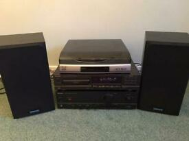 Tannoy Speakers, Technic Amp & CD