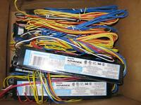 For Sale 8 new ballasts. $50 for all of them. they are the olde