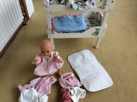 Children's doll play set