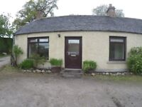 2 Bedroomed Semi-detached Cottage, Newly Refurbished, Quiet Rural Location, Foulis Farm, Evanton