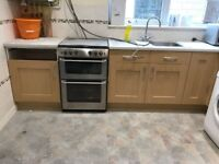 freestanding new world gas double oven