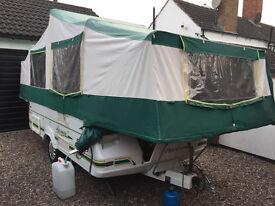 Pennine Pullman 535 Folding Camper - garage stored