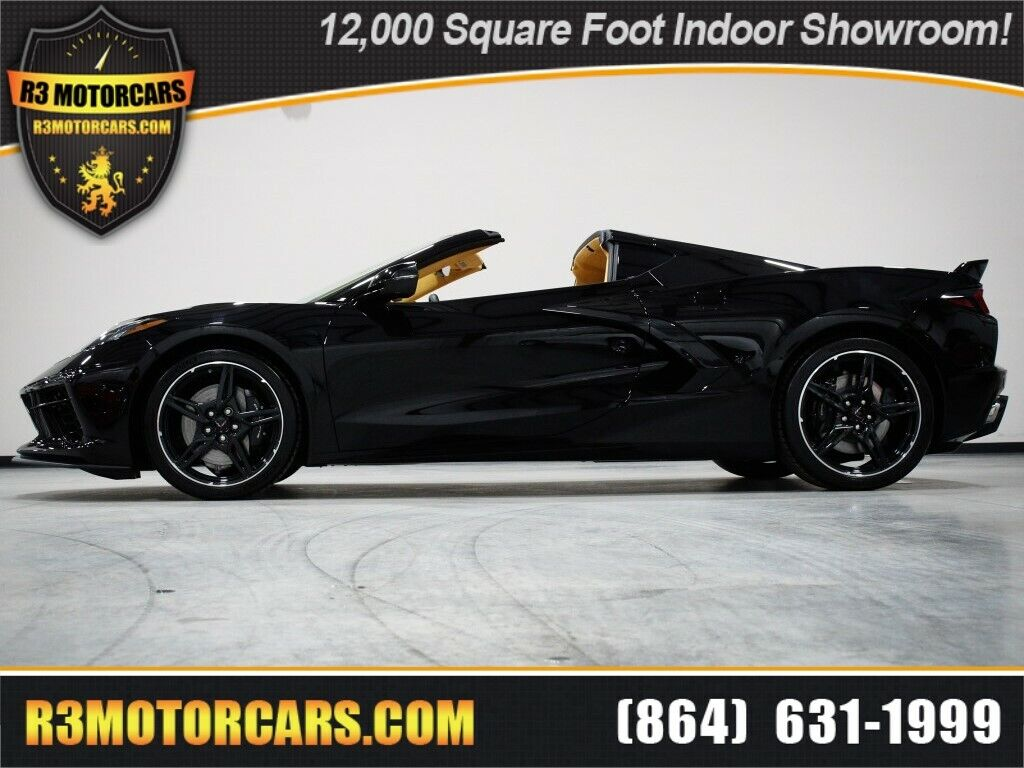 2020 Black Chevrolet Corvette Stingray 3LT | C7 Corvette Photo 1