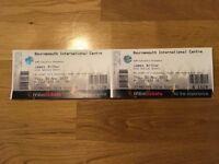 James Arthur Concert Tickets