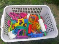 Kids Play doh-cookie cutters few more than in pics