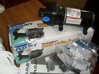 WATER PUMP AND HOOKUP CABLE