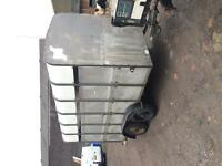 Ivor williams livestock trailer