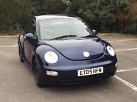 2005 Vw beetle 1.6 manual blue bargain cheap look