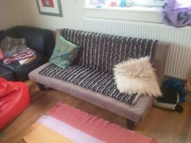 Funky clic clac sofa bed