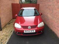 Volkswagen mk5 golf 2.0l petrol red f.s.h new cambelt 2004