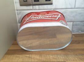 Bud bucket beer bottle bucket ice bucket beer cooler