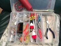 NEW Fishing Tackle Box Fresh water
