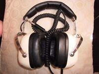 vintage sansui ss-20 2 way can headphones