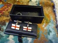 lovely pair of England Cufflinks