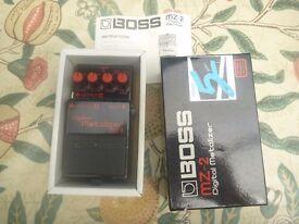 BOSS MZ-2 Digital Metalizer Boxed with manual MZ2 Made in Japan