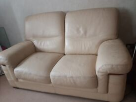 2 seat leather sofa FREE to uplift