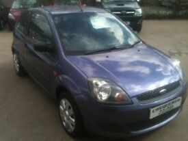 08 REG FORD FIESTA 1.2 STYLE 3DR 5000MILES £2650