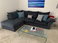 Collins & Hayes corner sofa