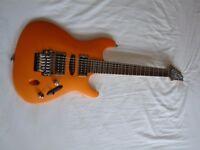 Ibanez S470DX Saber Series electric guitar - 2003 - Flat Orange Flare FOF - Korean