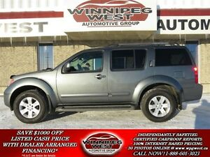 2007 Nissan Pathfinder Storm Gray LE (Limited Edition) 4X4, Heat
