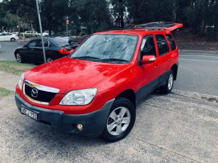 MY08 2007 Mazda Tribute 4x4 SUV LOW KS LOGBOOKS 2 Keys Roof Racks Sutherland Sutherland Area Preview