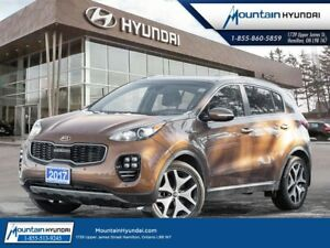 Kia Sportage sx turbo awd | bluetooth | leather | navigation 201