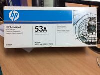 HP Laserjet 53A Q7553A Printer Cartridge - New - Unused