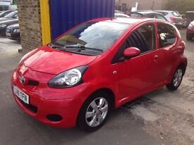 Toyota Aygo- full service history- excellent drive-MOT until next year-drive away the same day £2700