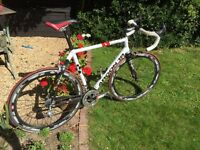 Argon 18 Road Race Bike inc Campagnolo Athena 11 speed and Mavic Cosmic Carbone wheel set