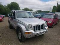 2002 JEEP CHEROKEE. AUTOMATIC. 3.7 PETROL LIMITED EDITION FULLY LOADED