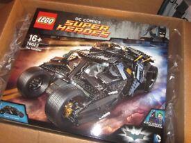 LEGO BATMAN,THE TUMBLER,NEW