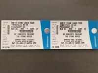 Pair of Stone Roses tickets - Hampden 24 June 2017