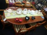Dining Set - Large table and 6 chairs