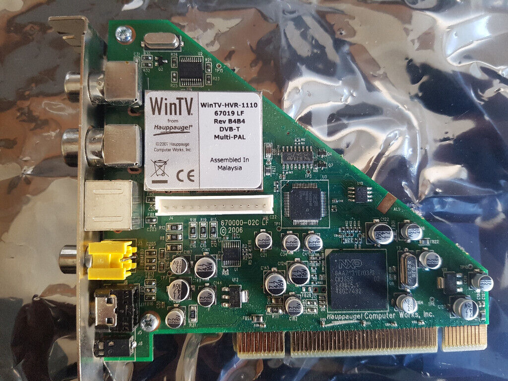 Hauppauge WinTV-HVR-1100 TV Tuner Card Working Order | in Southsea,  Hampshire | Gumtree