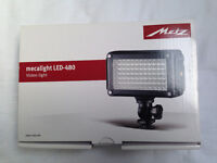 Metz Mecalight LED 480 photography / video light