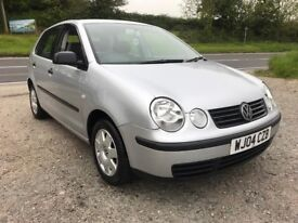 VOLKSWAGEN POLO TWIST 1.4 AUTO 5DR SILVER 2004 LOW MILES