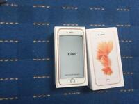 APPLE IPHONE 6S 16GB ROSE GOLD UNLOCKED IMMACULATE CONDITION FULLY BOXED